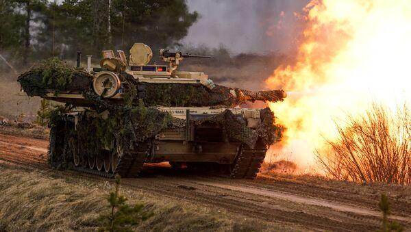 """Czołg M1 """"Abrams"""" - Sputnik Polska"""