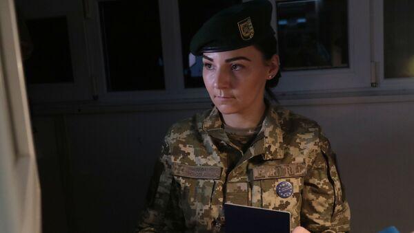Słuzba pograniczna Ukrainy - Sputnik Polska