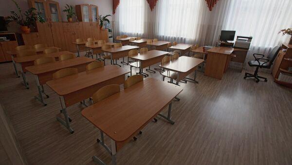 Pusta klasa szkolna. Zdjęcie archiwalne - Sputnik Polska