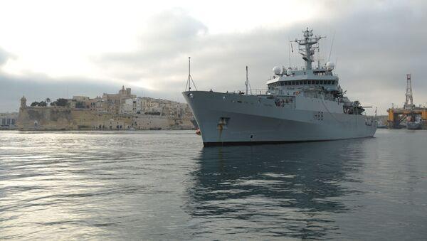 HMS Enterprise - Sputnik Polska