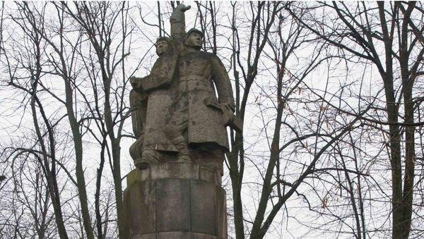 Pomnik Braterstwa Broni w Inowrocławiu - Sputnik Polska