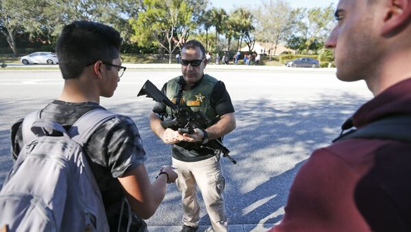 Florida School Shooting - Sputnik Polska