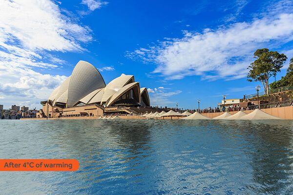 Jak wyglądałoby Sydney po zatopieniu w rezultacie globalnego ocieplenia - Sputnik Polska