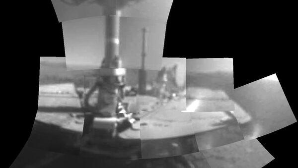 Łazik Opportunity na Marsie - Sputnik Polska