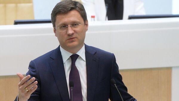 Minister energetyki Rosji Aleksander Nowak na posiedzeniu Rady Federacji FR - Sputnik Polska