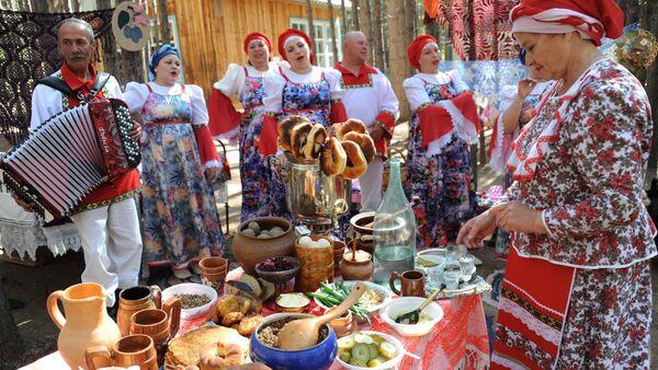 Festywal kultury rosyjskiej w Zabajkalu - Sputnik Polska