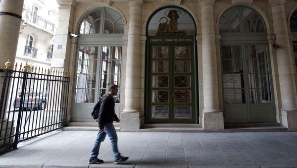 Sąd Konstytucyjny w Paryżu - Sputnik Polska