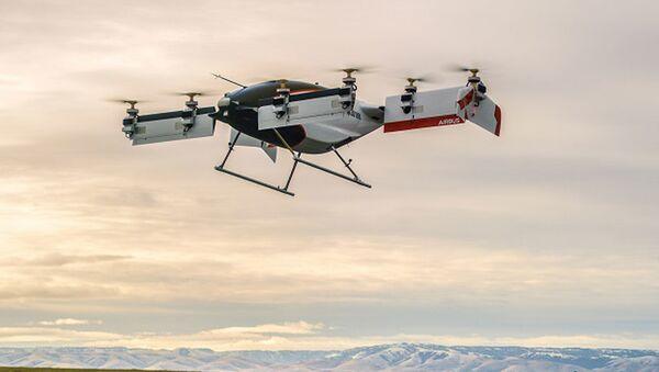 Pierwsza latająca taksów Alpha One projektu Vahana firmy Airbus - Sputnik Polska