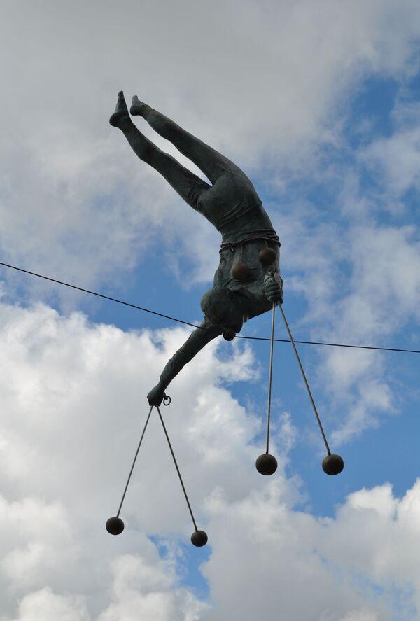 Rzeźba Jerzego Kędziory w Częstochowie - Sputnik Polska