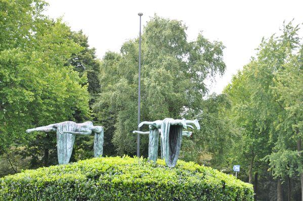 Rzeźba Zwevende maagden w Holandii - Sputnik Polska