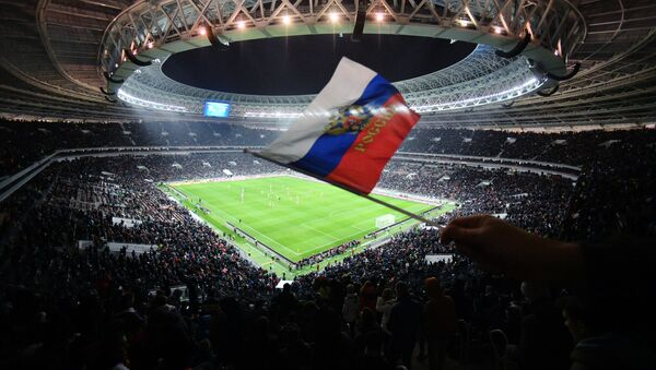 Stadion Łużniki w Moskwie - Sputnik Polska