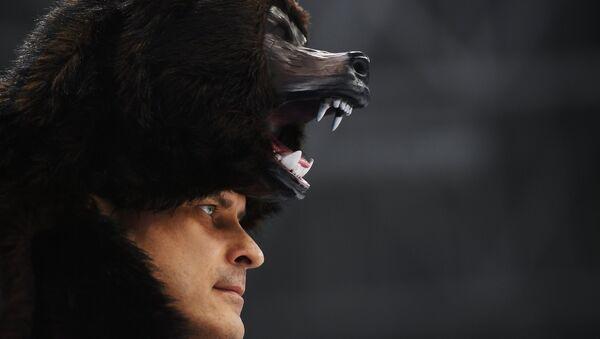 Olimpiada 2018, kibic Rosji - Sputnik Polska