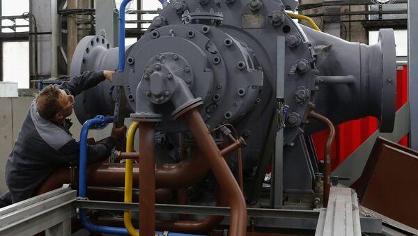 Specjaliści z rosyjskiej Zjednoczonej Korporacja Produkcji Silników ODK-Saturn stworzyli morski silnik turbowałowy piątej generacji - Sputnik Polska
