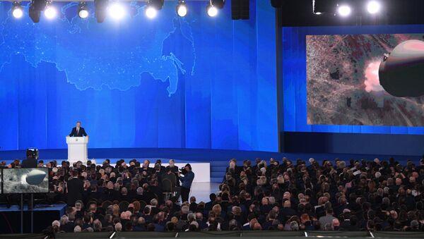 Przemówienie Władimira Putina 1 marca 2018 roku - Sputnik Polska