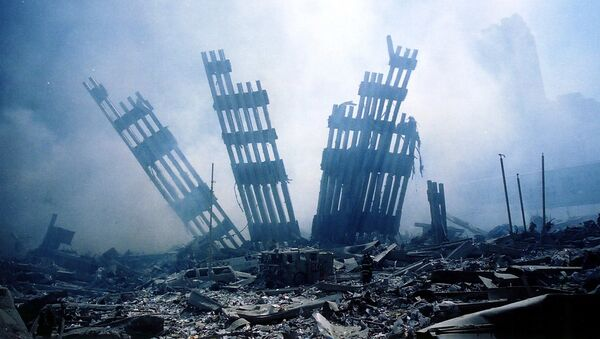 Skutki ataku terrorystycznego na World Trade Center w USA - Sputnik Polska