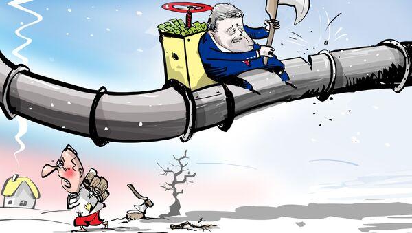 Na gazie Ukraina nie zaoszczędzi - Sputnik Polska