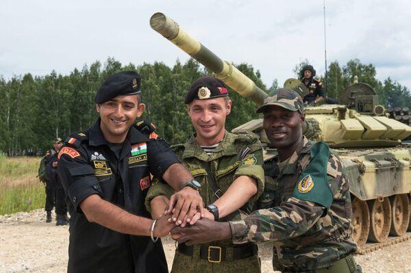 Wyścigi Treningowe w ramach Wojskowych Igrzysk Międzynarodowych - 2015 - Sputnik Polska
