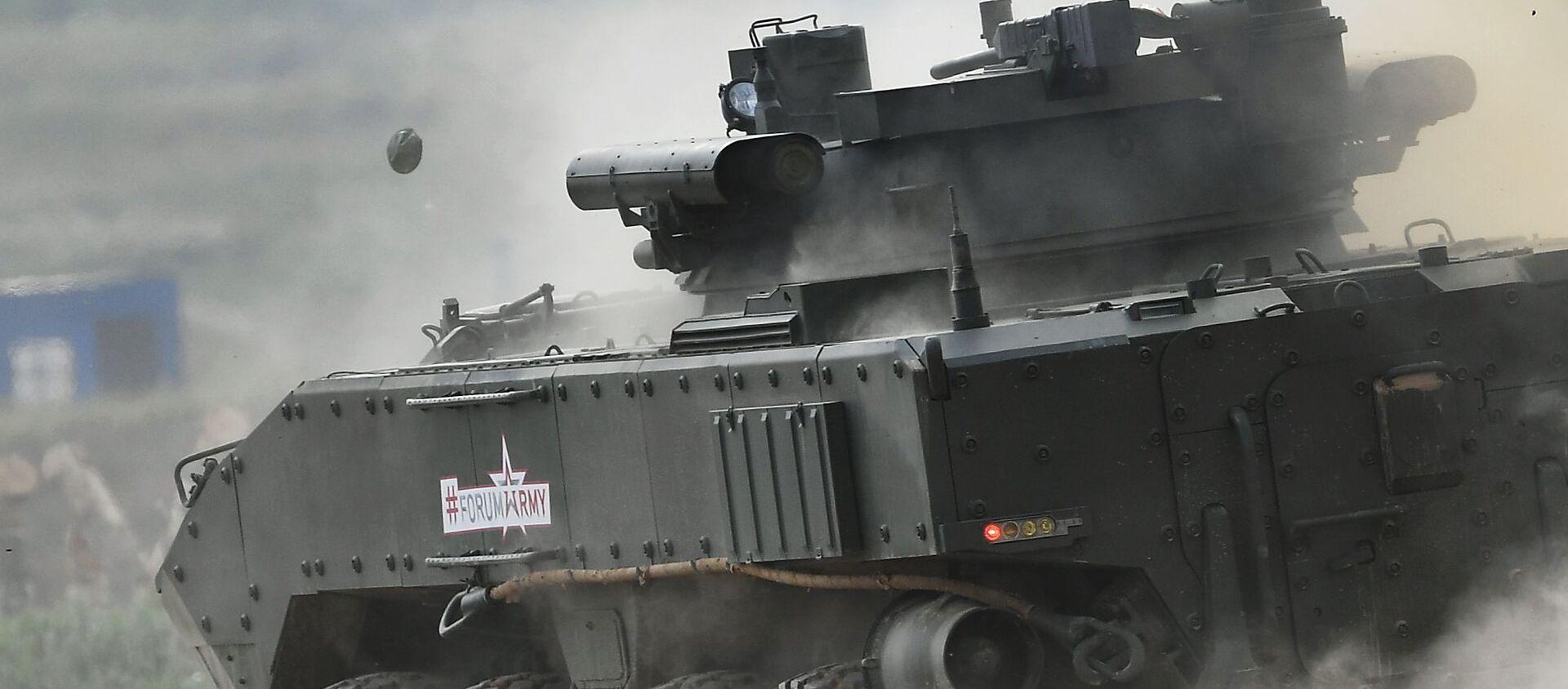 """Kołowy bojowy wóz piechoty K-17 """"Bumerang-BM"""" - Sputnik Polska, 1920, 03.03.2021"""