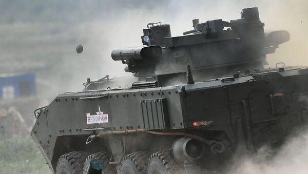 """Kołowy bojowy wóz piechoty K-17 """"Bumerang-BM"""" - Sputnik Polska"""