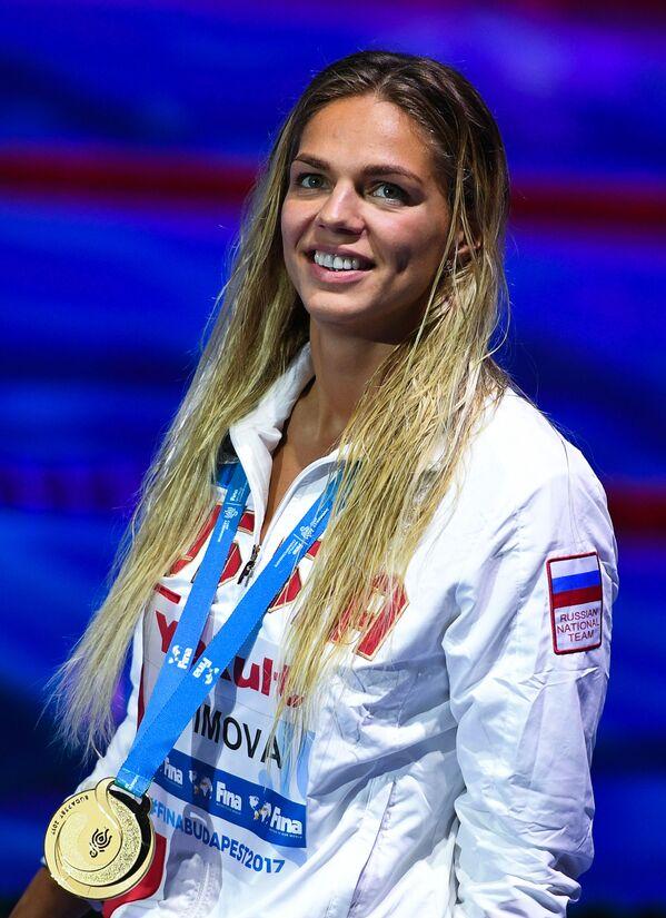 Rosyjska pływaczka Julija Jefimowa - Sputnik Polska