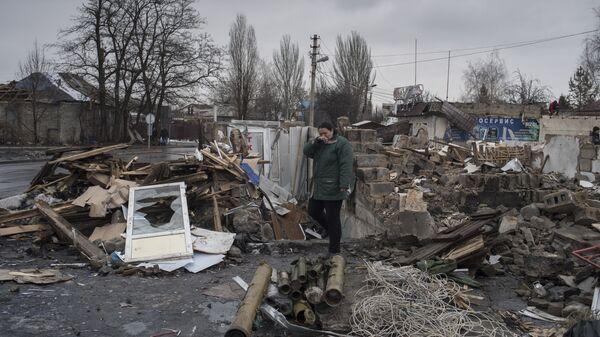 Sytuacja w Donbasie - Sputnik Polska