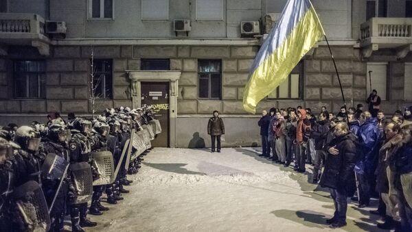 Przewrót na Ukrainie - Sputnik Polska