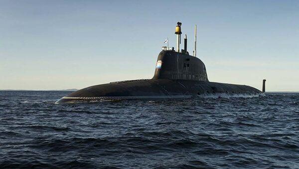"""Okręt podwodny projektu """"Jasień-M"""" - Sputnik Polska"""