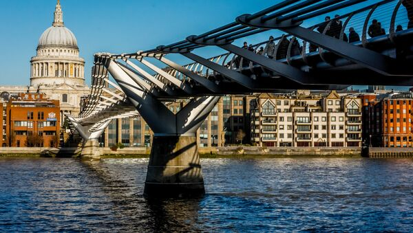 Most Millenium w Londynie - Sputnik Polska