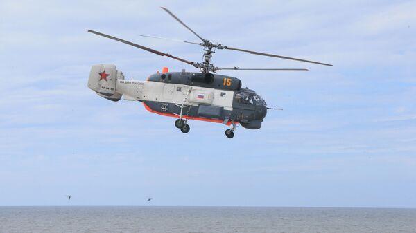 Śmigłowiec pokładowy Ka-27PS - Sputnik Polska