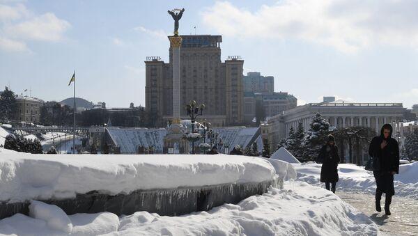 Plac Niepodległości w Kijowie, Ukraina - Sputnik Polska