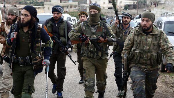 Syryjska opozycja wspierana przez Turcję - Sputnik Polska