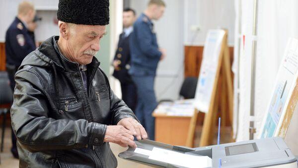 Wybory prezydenckie na Krymie, Symferopol - Sputnik Polska