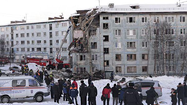 Wybuch gazu w Murmańsku - Sputnik Polska