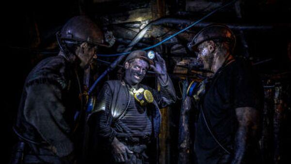 Górnicy z Donbasu - Sputnik Polska