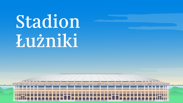 Stadion Łużniki - Sputnik Polska