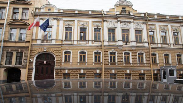Budynek konsulatu generalnego Polski w Petersburgu - Sputnik Polska