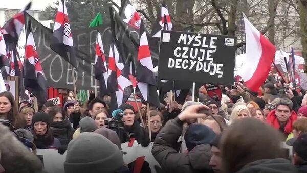 """""""Czarny piątek w Warszawie - Sputnik Polska"""