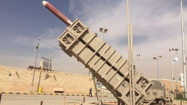 Saudyjski system rakietowy MIM-104 Patriot - Sputnik Polska