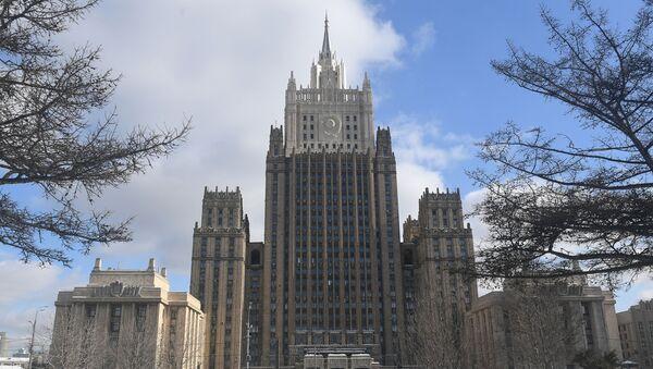 Gmach rosyjskiego ministerstwa spraw zagranicznych w Moskwie - Sputnik Polska