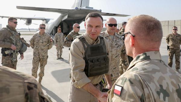 Andrzej Duda z wizytą w Afganistanie - Sputnik Polska