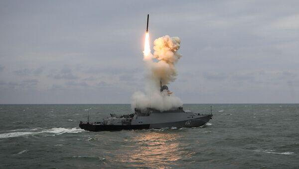 Manewry Flotylli Kaspijskiej - Sputnik Polska
