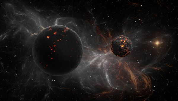 Dwie ciemne planety w kosmosie - Sputnik Polska
