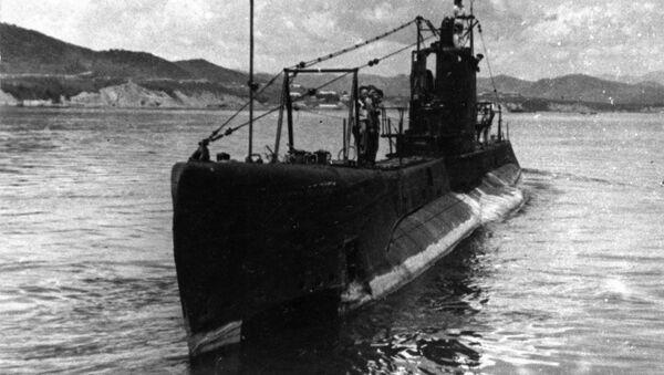 Radziecki okręt podwodny Szczuka - Sputnik Polska