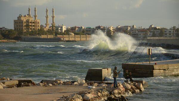 Widok na Latakię w Syrii - Sputnik Polska