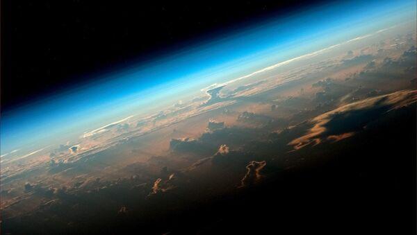 Widok na Ziemię z pokładu Międzynarodowej Stacji Kosmicznej - Sputnik Polska