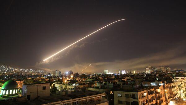 Nocne uderzenie na Syrię - Sputnik Polska