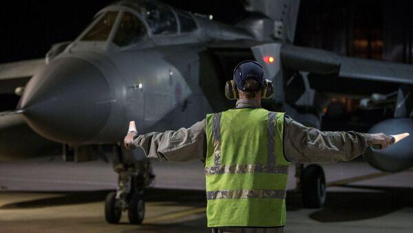 Samolot RAF Tornado wylądował na Cyprze po uderzeniu krajów zachodniej koalicji na Syrię - Sputnik Polska