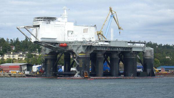 Pływająca platforma startowa Sea Launch - Sputnik Polska