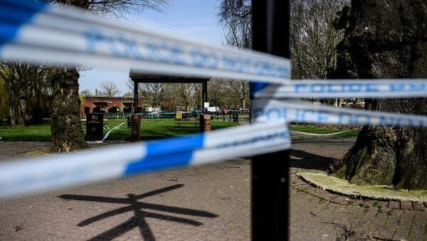 Wejście do parku w Salisbury, gdzie znaleziono otrutych Siergieja i Julię Skripal - Sputnik Polska