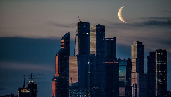 Kompleks biznesowy Moskwa-city - Sputnik Polska